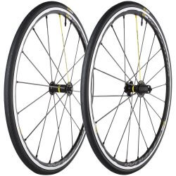 Mavic Ksyrium PRO Wheel Set (front and rear) with  Mavic Tyres - (Shimano/SRAM 10/11sp)