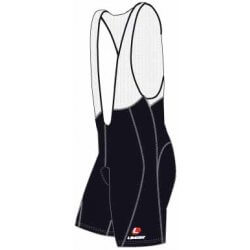 Limar Bio Panel Tech Gel Bibshorts - Black
