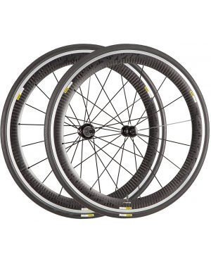 Mavic Cosmic Pro Carbon Wheel Set (front and rear) with Mavic Tyres - (Shimano/SRAM 10/11sp)