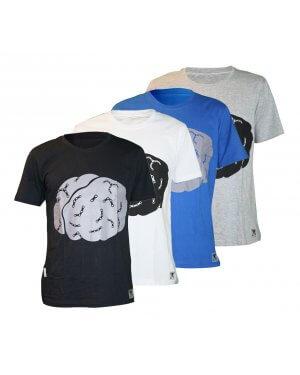The Big Ring Mens T-Shirt CycleBrain (BR1018)