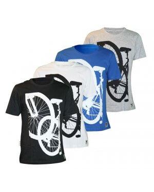 The Big Ring Mens T-Shirt Wheel (BR1019)