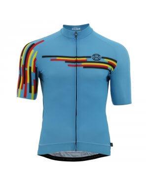 Jersey S/S Belgium Blue