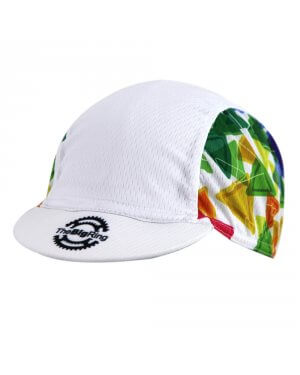 Cap Big Ring Colorful Triangle