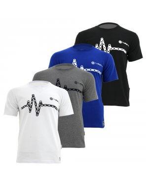 The Big Ring Mens T-Shirt Chain Beat (BR1002)