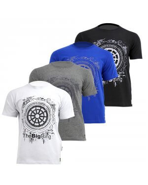 The Big Ring Mens Chain and Ring Frame T-Shirt (BR1004)