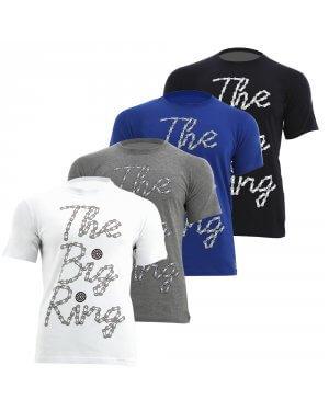 The Big Ring Mens Chain T-Shirt (BR1013)