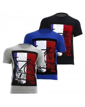 The Big Ring Mens T-Shirt France (BR1025)
